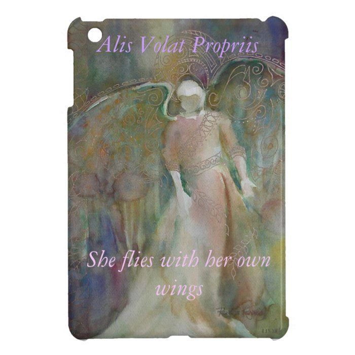 """Angel of the Misty Forest"" Case For The iPad Mini"