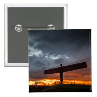 Angel Of The North Button Badge