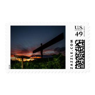 Angel Of The North Postage Stamp