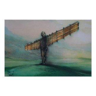 Angel of The North Print print