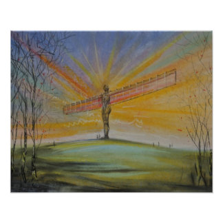 Angel Of The North Printer/Poster Poster