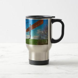 Angel of the North Travel Mug