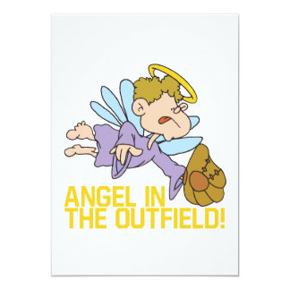 Angel Of The Outfield Card