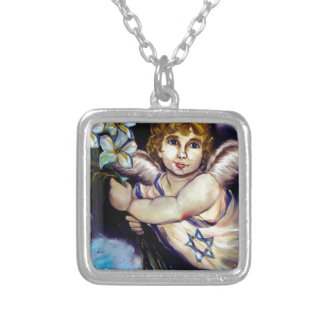 Angel of the Peace Israel Necklaces
