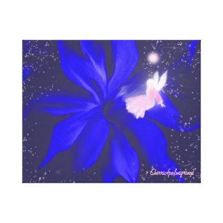 Angel of the stars  beautiful canvas wrapped
