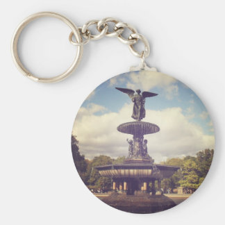 Angel of the Waters, Central Park, New York City Keychain