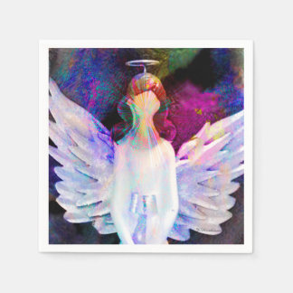 Angel of Tranquility Standard Cocktail Napkins