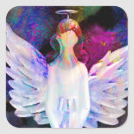 Angel of Tranquility Stickers