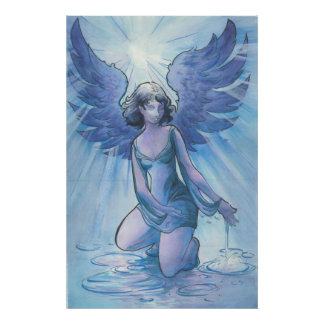 Angel of Water and Grace Print
