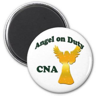 Angel on Duty 2 Inch Round Magnet