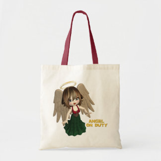 Angel On Duty Budget Tote