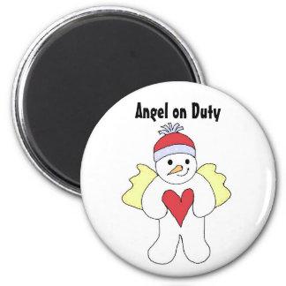 Angel on Duty Magnet