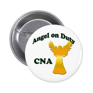 Angel on Duty Pinback Button