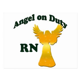 Angel on Duty Postcard