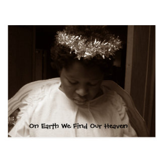 Angel on Earth Postcard