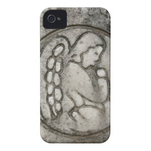 Angel on its Knees iPhone 4 Covers