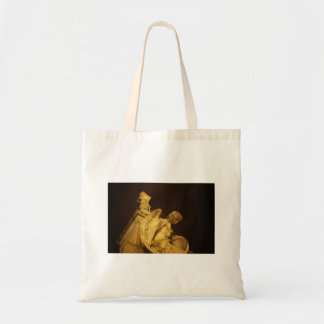 Angel on the Base of Christopher Columbus Statue Canvas Bag