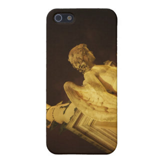 Angel on the Base of Christopher Columbus Statue Cover For iPhone 5
