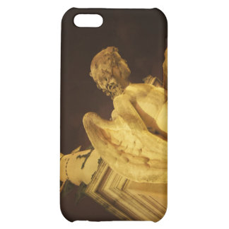 Angel on the Base of Christopher Columbus Statue Cover For iPhone 5C