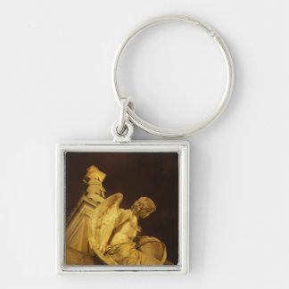 Angel on the Base of Christopher Columbus Statue Key Chain