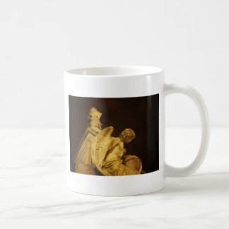 Angel on the Base of Christopher Columbus Statue Coffee Mug