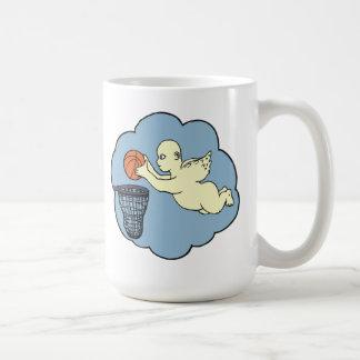 Angel On The Court Coffee Mug