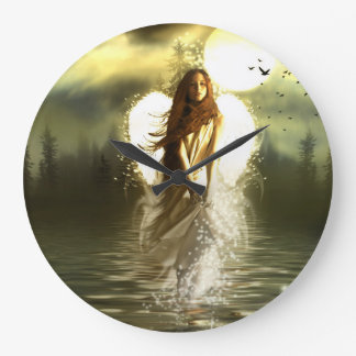 Angel On The Lake Wallclock