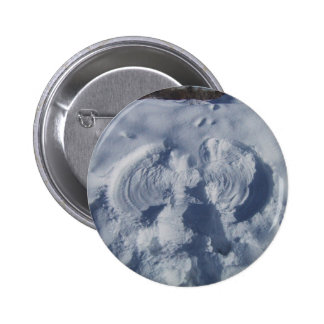Angel On The Snow Pinback Button