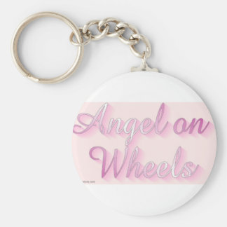 angel_on_wheels keychain