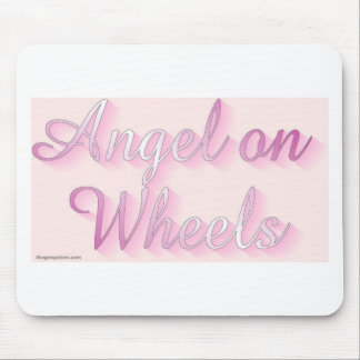 angel_on_wheels mouse pad