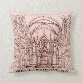 Angel Orensanz Throw Pillow