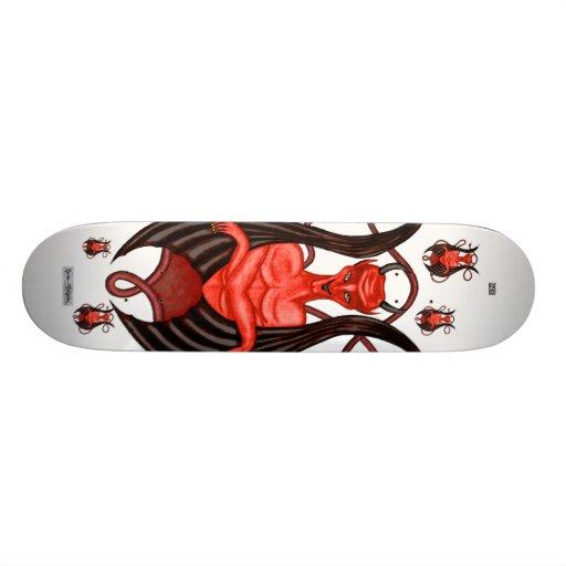Ángel oscuro patines personalizados
