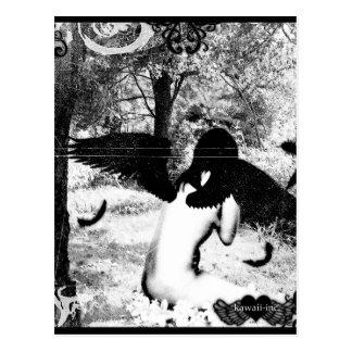 Ángel oscuro postales