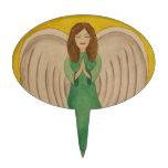 Angel Oval Cake Picks