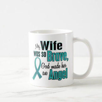 Angel Ovarian / Cervical Cancer Coffee Mug