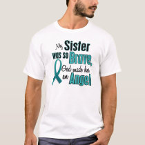 Angel Ovarian / Cervical Cancer T-Shirt