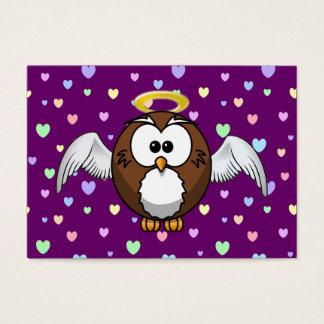 angel owl business card
