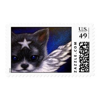 ANGEL PAPILLON PUPPY DOG Postage