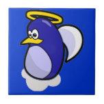 Angel Penguin Ceramic Tiles