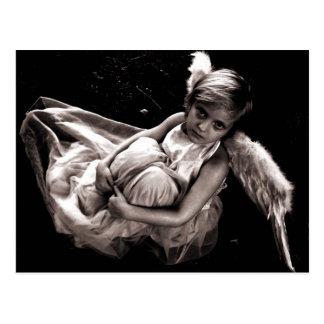 Ángel perdido del bebé tarjeta postal