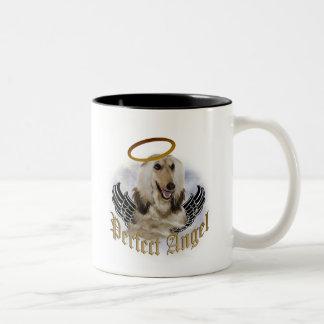 Ángel perfecto afgano tazas de café