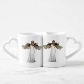 Ángel perfecto taza para parejas