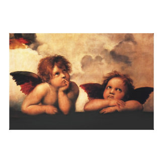 angel picture canvas print