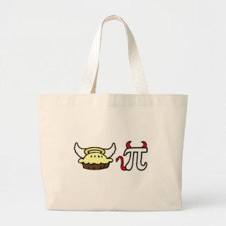 Angel Pie and Devil Pi Tote Bag