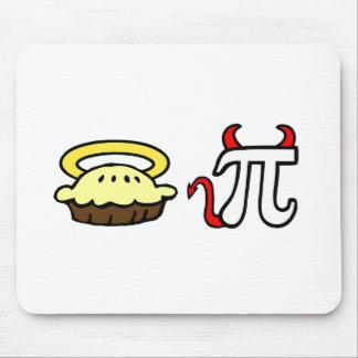 Angel Pie Devil Pi Mouse Pad