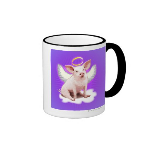Angel Pig Coffee Mug