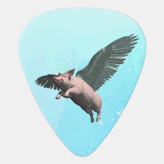 Angel Pig Guitar Pick
