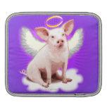 Angel Pig iPad Sleeve