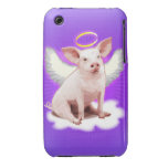 Angel Pig iPhone 3 Cases