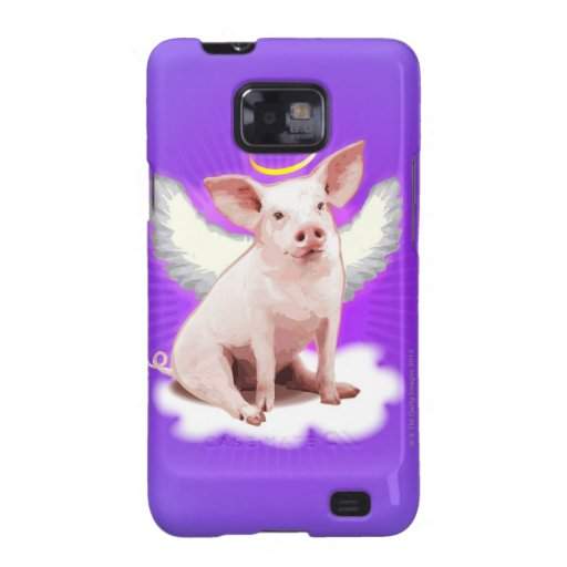 Angel Pig Samsung Galaxy S2 Covers